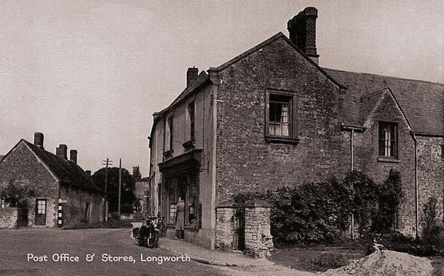 Longworth PO & Stores as it Once Was