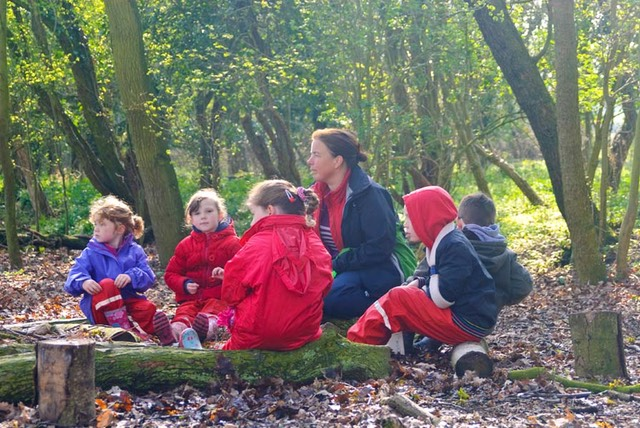 Longworth Primary School 01 - Forest School