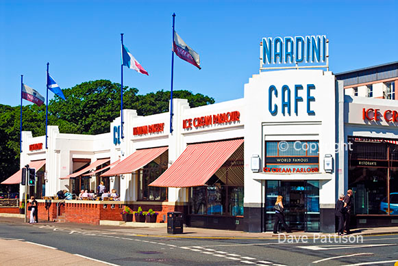 Nardini Cafe, Largs, Scotland